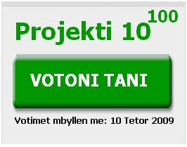 Projekti 10^100: Jepni voten tuaj për idenë më të mirë